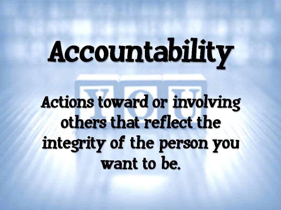 Metro Water Tucson Integrity 3 , accountability ,