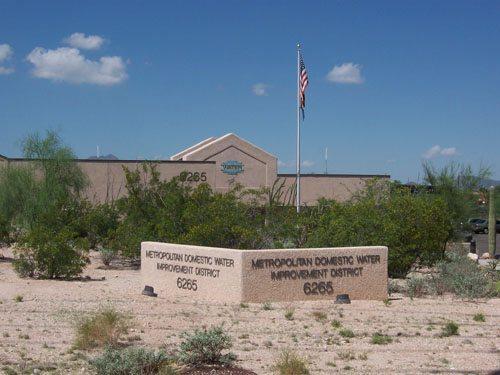 Metro Water Distric Building (Front) Tucson AZ